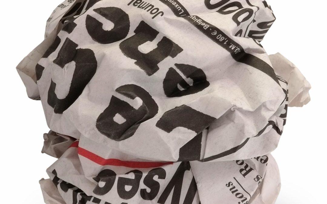 Les journaux sont-ils des ordures ?
